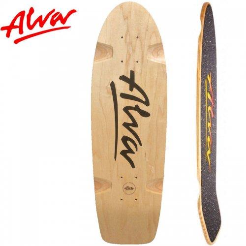 【ALVA SKATES アルバ スケートボード デッキ】BELA RE-ISSUE BLACK DECK【27インチ】復刻 クルーザーシェイプ NO11