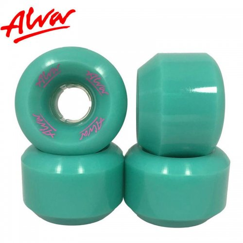【ALVA SKATES アルバ スケートボード ウィール】CONICAL 101A AQUA【59mm】復刻 コニカルシェイプ NO1