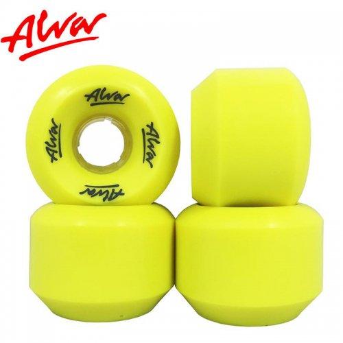 【ALVA SKATES アルバ スケートボード ウィール】CONICAL 88A DAY GLOW【59mm】復刻 コニカルシェイプ NO2