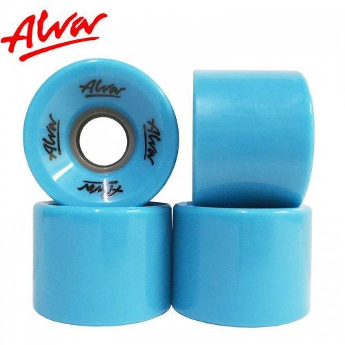 【ALVA SKATES アルバ スケートボード ソフト ウィール】CRUISER WHEELS ELECTRIC BLUE【60mm】クルーザーウィール NO3