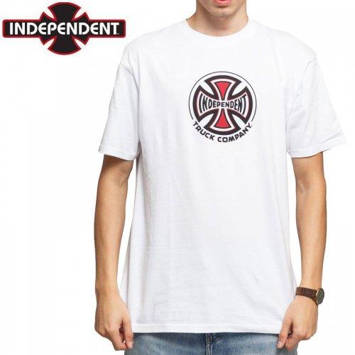 【インディペンデント Tシャツ】TRUCK CO S/S TEE【ホワイト】NO179