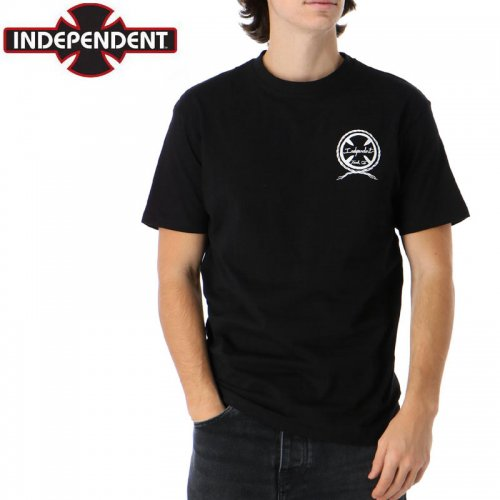 【インディペンデント Tシャツ】FIGHT THAN SWITCH S/S TEE【ブラック】NO181