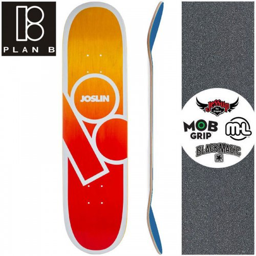 【プランビー PLAN-B スケートボード デッキ】JOSLIN ANDROMEDA DECK【8.0インチ】NO169