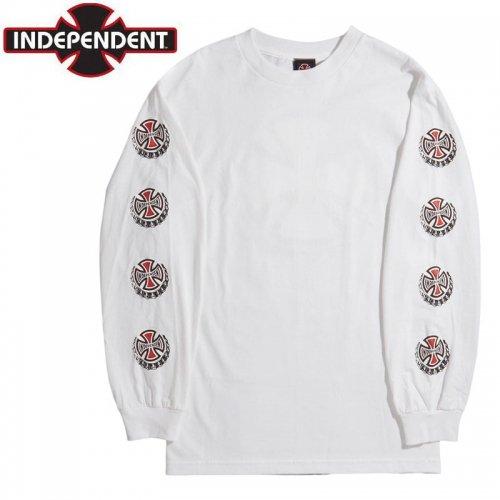 【インディペンデント ロングTシャツ】SUDS L/S TEE【ホワイト】NO27