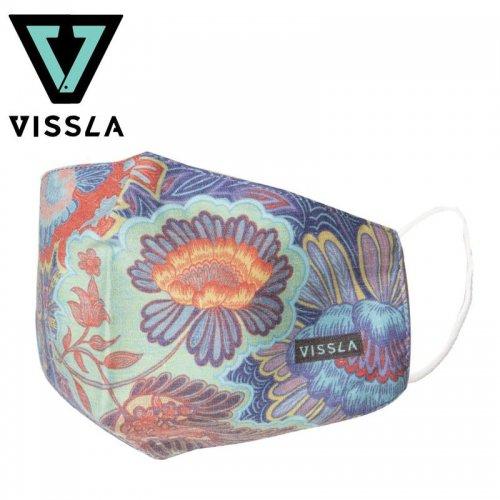 【ヴィスラ VISSLA 小物 マスク】MASK レジングリーン NO2