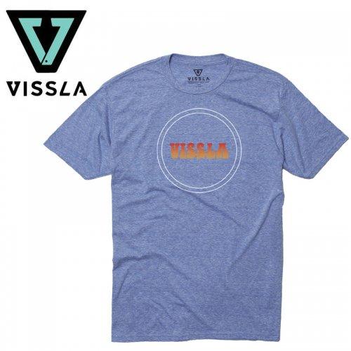 【ヴィスラ VISSLA サーフィン Tシャツ】SIMPLE TIMES TEE【ロイヤルウォッシュヘザー】NO9