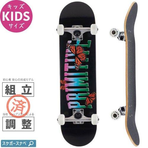 【プリミティブ PRIMITIVE キッズ スケートボード コンプリート】COLLEGIATE BUTTERFLY COMPLETE【7.3インチ】NO4