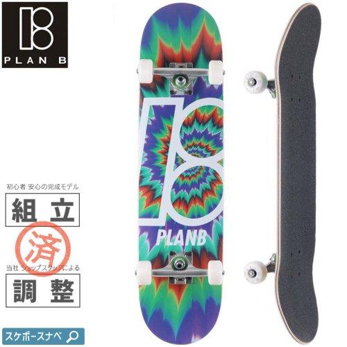 【PLAN-B プランビー スケートボード コンプリート】TEAM TUNE OUT COMPLETE【7.75インチ】NO17
