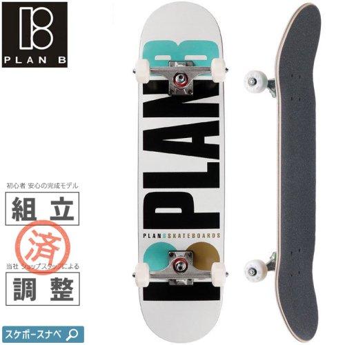 【PLAN-B プランビー スケートボード コンプリート】TEAM OG COMPLETE【7.75インチ】NO19