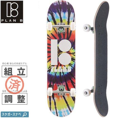 【PLAN-B プランビー スケートボード コンプリート】TEAM SPIRAL COMPLETE【7.75インチ】NO23