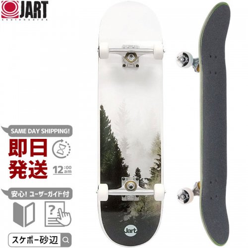 【JART ジャート スケートボード コンプリート】FOGGY COMPLETE【8.0インチ】NO4
