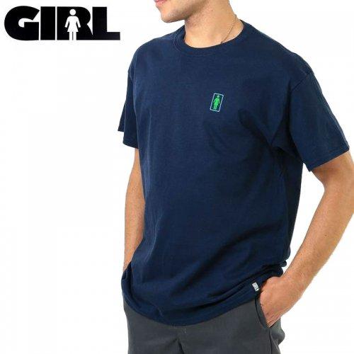 【ガール GIRLSKATEBOARD スケボー Tシャツ】SKULL OF FAME TEE【ネイビー】NO309