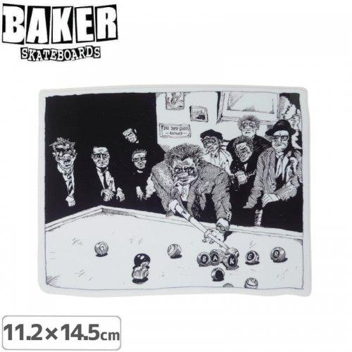 【ベーカー スケボー ステッカー】BAKER POOL STICKER 11.2cm×14.5cm NO79