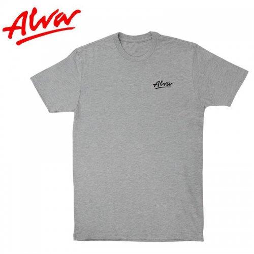 【ALVA SKATES アルバ スケートボード Tシャツ】OG LOGO LOWKEY TEE【ヘザーグレー】NO2