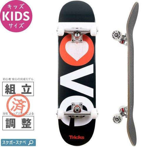 【TRICKS トリックス スケートボード コンプリート】LOVE KIDS COMPLETE【7.25インチ】小学生 NO1