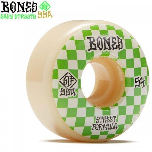 【ボーンズ BONES スケボーウィール】STF PATTERNS V3 SLIMS 99A【54mm】NO236