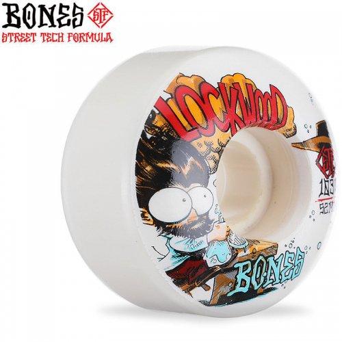 【ボーンズ BONES スケボーウィール】STF LOCKWOOD EXPERI MENTAL 103A V3 SLIMS【52mm】NO238