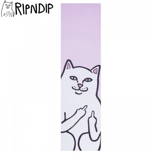 【RIPNDIP リップンディップ スケボー デッキテープ】LORD NERMAL GRIPTAPE 9 x 33 ピンク NO1