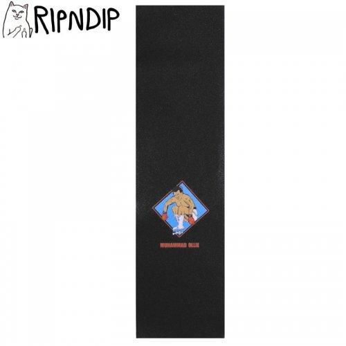 【RIPNDIP リップンディップ スケボー デッキテープ】MUHAMMAD OLLIE GRIPTAPE 9 x 33 ブラック NO2