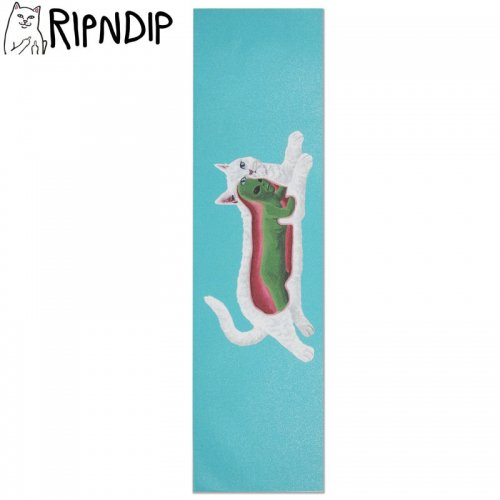 【RIPNDIP リップンディップ スケボー デッキテープ】TRANSNERM GRIPTAPE 9 x 33 アクア NO3