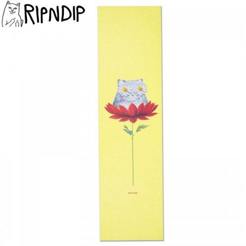 【RIPNDIP リップンディップ スケボー デッキテープ】DAISY DO GRIPTAPE 9 x 33 イエロー NO6