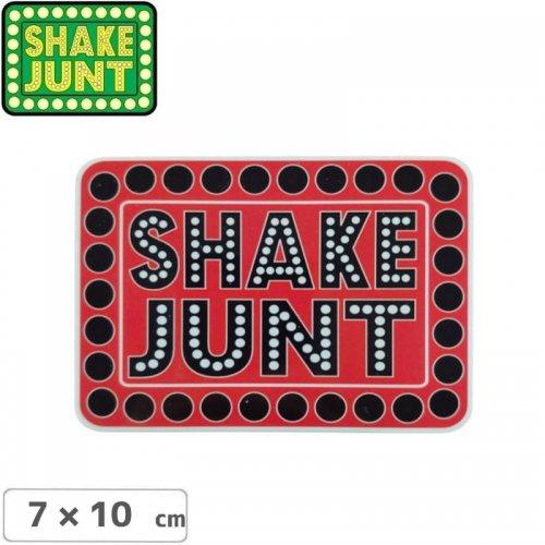 【シェークジャント SHAKE JUNT STICKER ステッカー】BOX LOGO STICKER 7 x 10cm NO53