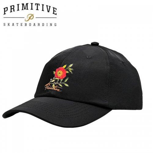 【PRIMITIVE プリミティブ スケボー キャップ】PRIMITIVE プリミティブ スケボー キャップ HORTICULTURE SNAPBACK HAT ブラック NO11