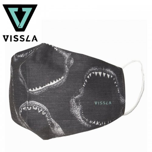 【ヴィスラ VISSLA 小物 マスク】ファントム2 MASK ブラック NO3