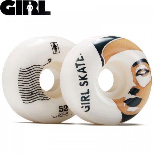 【GIRL SKATEBOARD ガール スケートボード ウィール】POSTAL OG STAPLE WHEELS 99A【52mm】NO44