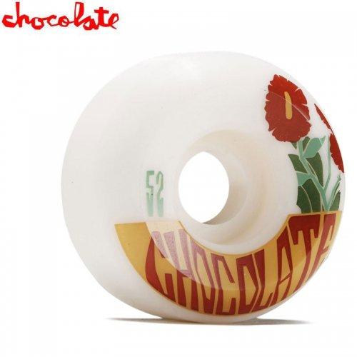 【チョコレート CHOCOLATE スケートボード ウィール】PLANTASIA CONICAL WHEELS 99A【52mm】NO44