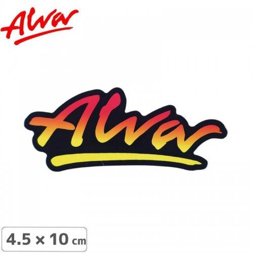 【ALVA SKATES アルバ スケートボード ステッカー】OG LOGO STICKER 4.5 x 10cm NO1