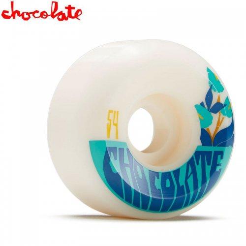 【チョコレート CHOCOLATE スケートボード ウィール】PLANTASIA CONICAL WHEELS 99A【54mm】NO45