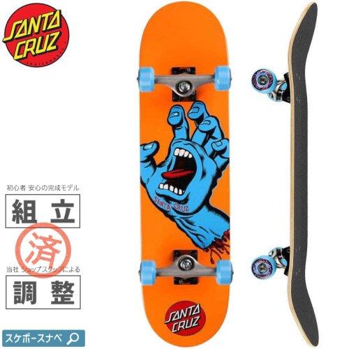 【サンタクルーズ SANTA CRUZ スケートボード コンプリート】SCREAMING HAND MID COMPLETE 95A【7.8インチ】スクリーミングハンド NO82