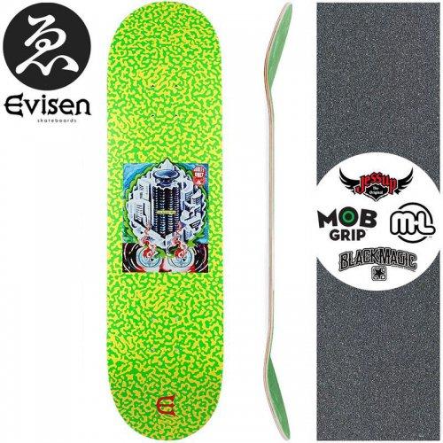 【EVISEN エビセン スケートボード デッキ】CLUB W SAFETY DECK【8.0インチ】【8.125インチ】【8.25インチ】【8.75インチ】NO51