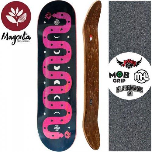 【マゼンタ MAGENTA スケートボード デッキ】MAGIC SNAKE DECK【7.75インチ】【8.125インチ】マゼンタ NO73