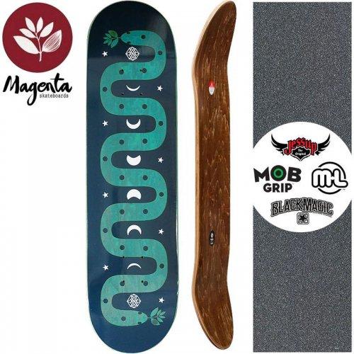 【マゼンタ MAGENTA スケートボード デッキ】MAGIC SNAKE DECK【7.75インチ】【8.125インチ】ティール NO76