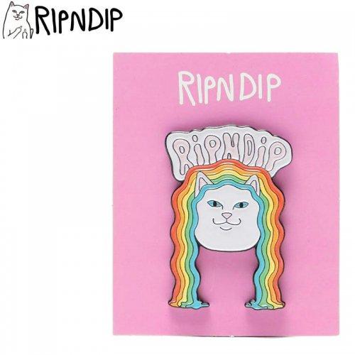 【RIPNDIP リップンディップ スケボー ピンバッジ】GROOVY NERM PIN 4cm×2.7cm NO1