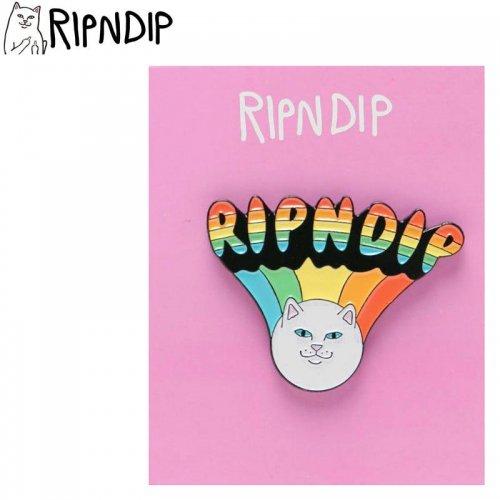 【RIPNDIP リップンディップ スケボー ピンバッジ】SHOROOM HEAD PIN 3cm×4cm NO4