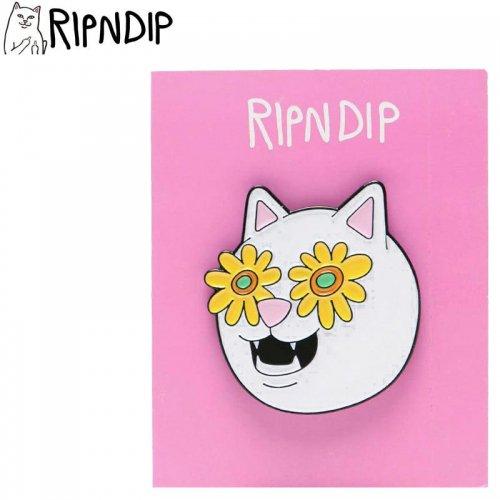 【RIPNDIP リップンディップ スケボー ピンバッジ】BELLY PIN 3.3cm×3.3cm NO5