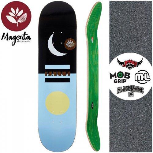 【マゼンタ MAGENTA スケートボード デッキ】LEO VALLS DAY & NIGHT DECK【8.0インチ】NO78