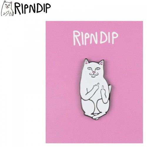 【RIPNDIP リップンディップ スケボー ピンバッジ】LORD NERMAL PIN 3cm×1.5cm NO7
