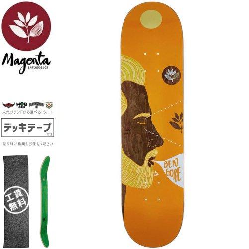 【マゼンタ MAGENTA スケートボード デッキ】BEN GORE VISIONS DECK【7.625インチ】【8.0インチ】NO80