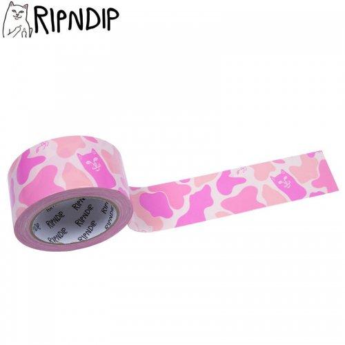 【RIPNDIP リップンディップ スケボー テープ】NERM TAPE ピンクカモ NO5