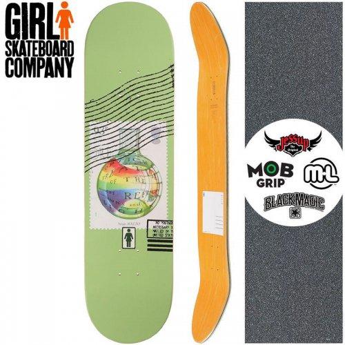 【ガール GIRL スケートボード デッキ】MALTO POSTAL SERIES DECK【8.25インチ】NO262