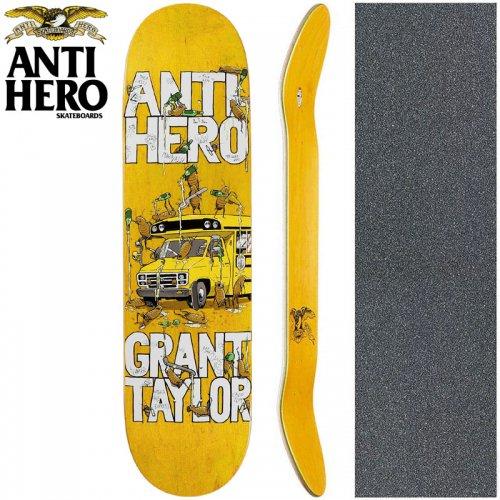 【ANTI HERO アンタイヒーロー スケートボード デッキ】GRANT TAYLOR MAKA BUS DECK【8.06インチ】NO140