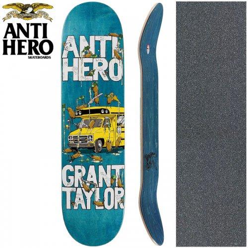 【ANTI HERO アンタイヒーロー スケートボード デッキ】GRANT TAYLOR MAKA BUS DECK【8.06インチ】NO141