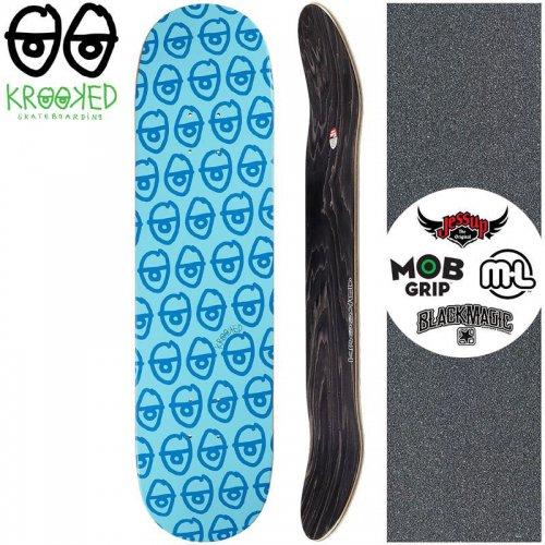 【クルックド KROOKED スケートボード デッキ】PEWPILS PP DECK【8.06インチ】NO120