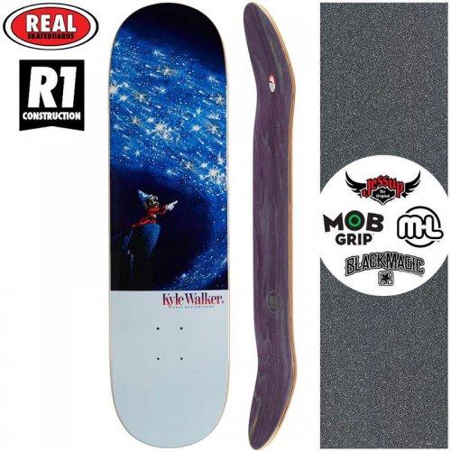 【リアル REAL スケートボード デッキ】KYLE SORCERER R1 DECK【8.06インチ】NO172