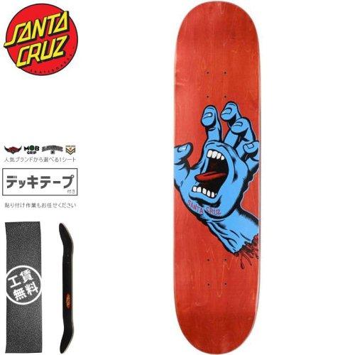 【サンタクルーズ SANTA CRUZ スケートボード デッキ】SCREAMING HAND DECK【8.0インチ】スクリーミングハンド NO169