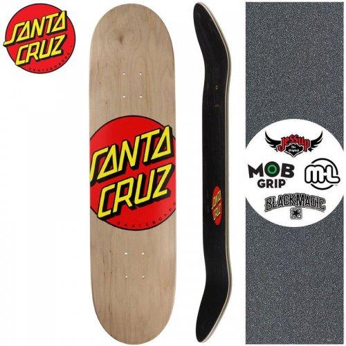 【サンタクルーズ SANTA CRUZ スケートボード デッキ】CLASSIC DOT DECK【8.375インチ】クラシック ロゴ NO170